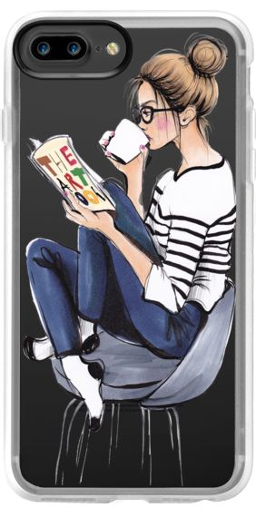Casetify iPhone 7 Plus Classic Grip Case - Coffee Break by anna hammer