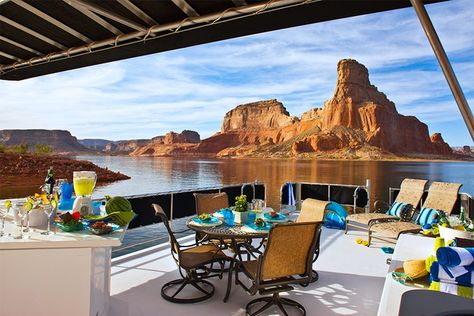 Circuit de luxe, Lake Powell Resort, Lake Powell, Etats-Unis - Privilèges Voyages