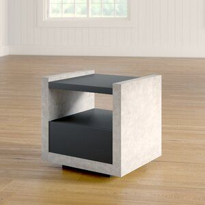 17 Stories Evony End Table Contemporary End Tables End Tables
