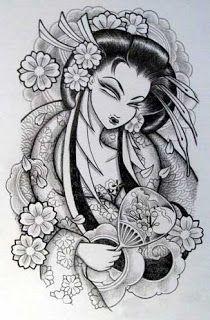 Plantillas O Disenos Tatuajes Arte De Tatuaje Japones Arte De