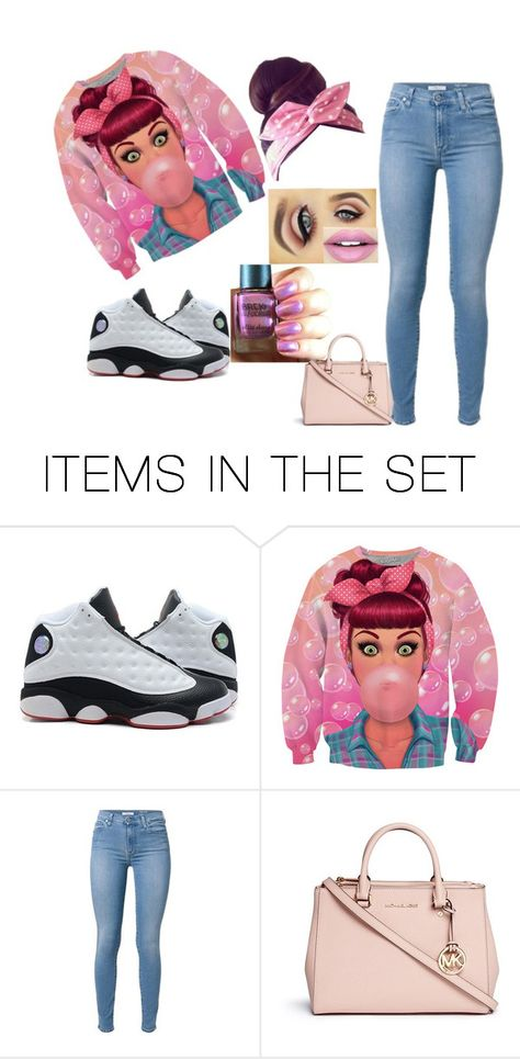 """buble gum Queen"" by raregold on Polyvore featuring art"