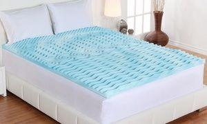 Authentic Comfort 3 5 Zone Orthopedic Foam Mattress Topper