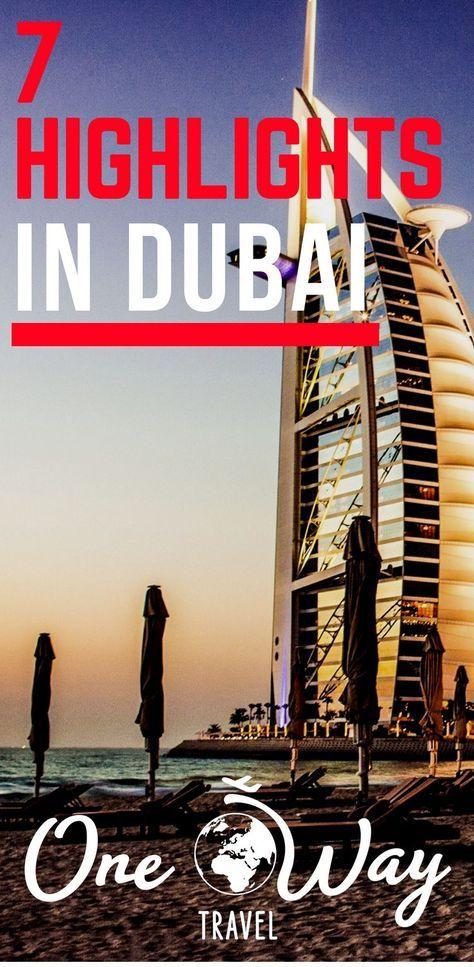 7 Highlights für deinen Dubai Aufenthalt | Dubai reise