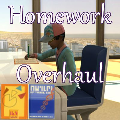 Mod The Sims Homework Overhaul By Scarletqueenkat Sims 4 Downloads Sims 4 Sims Homework