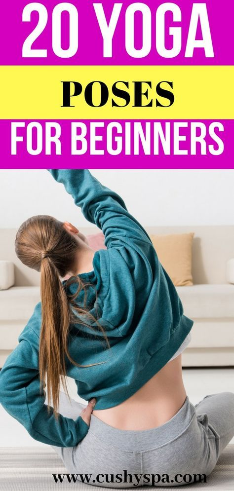20 Yoga Poses for Beginners of Any Age | yoga | Yoga poses