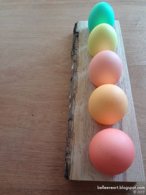 Rustic Easter Egg Holder Decor by BelleeveArt on Etsy, $18.00