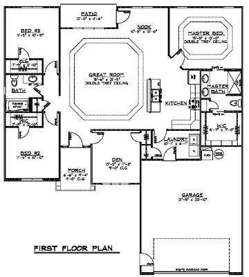 Details about Custom Home House Plan 1,683 SF Ranch ... on ranch style house with porch, ranch house in sanford florida, ranch house floor plans, ranch house style kitchens, ranch style house interiors, ranch house layouts, ranch style house plan front view, ranch house plan for elevation, ranch walkout plans, ranch style house plans elevation, cabin plans with, ranch log house,