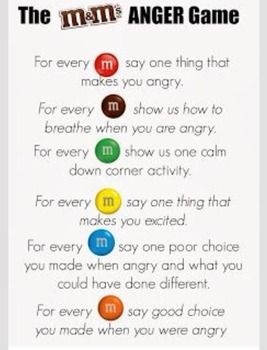 Perfect anger management strategy activity to teach students strategies while keeping it fun! They'll remember this quick activity all year long!