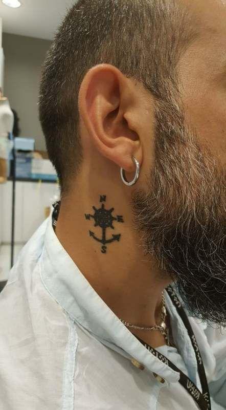 Tattoo Neck Anchor Tat 16 Super Ideas Neck Tattoo For Guys Small Neck Tattoos Neck Tattoo