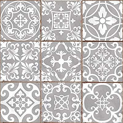 Traditional Tile Transfers Stickers Wall Vintage Victorian Moroccan Retro Mosai