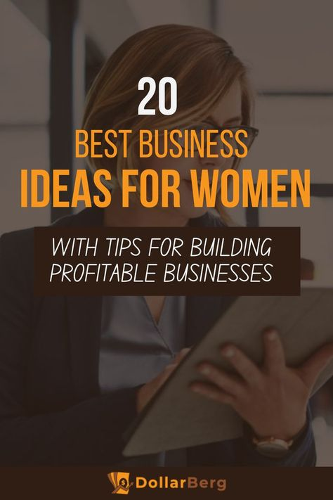 20 Best Business Ideas for Women