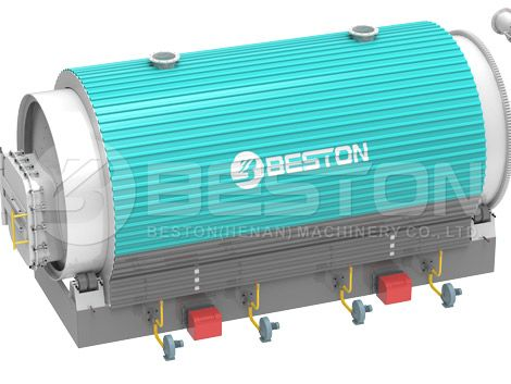 Plastic Pyrolysis Reactor With First Class Design | Pyrolysis Plant