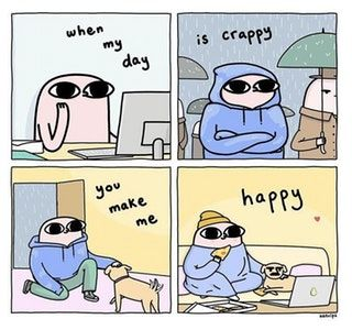 You Make Me Happy When Skies Are Grey Wholesomememes You Make Me Happy Quotes Make Me Happy Quotes Funny Memes