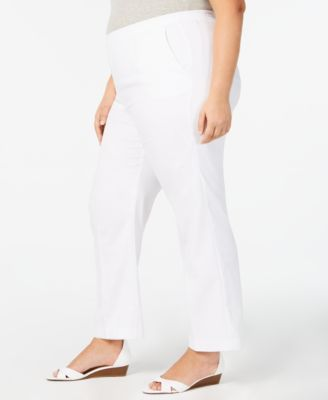 ebfeb5ee948 Alfred Dunner Plus Size Palm Coast Pants - White 18WS in 2019 ...