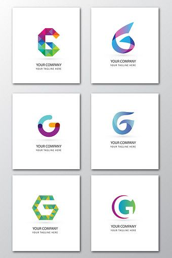 English Letter G Creative Logo Ink Vector Lettering Creative