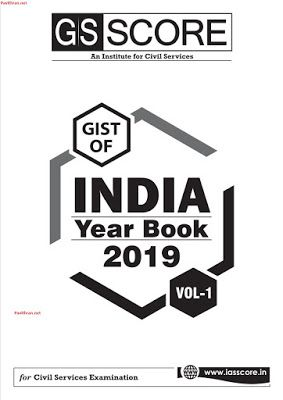 Gist Of India Year Book 2019 By Gsscore Pdf Download In 2019