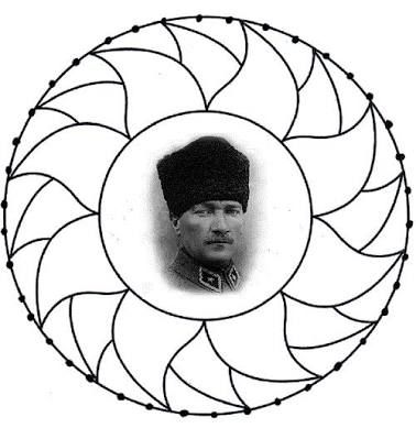 Ataturk Ile Ilgili Mandala Calismasi Ile Ilgili Gorsel Sonucu Mandala Boyama Sayfalari Boyama Sayfalari Mandala