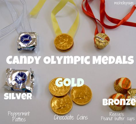 Candy Olympic Medals