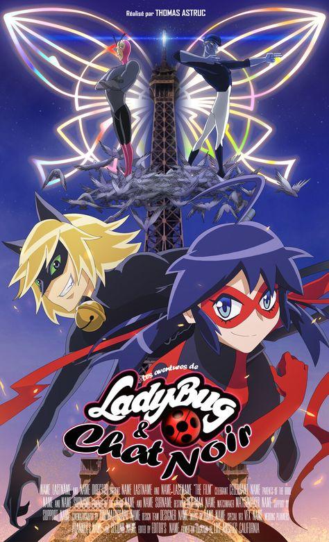 Miraculous Ladybug - Anime movie poster, Marina TSUZUKI