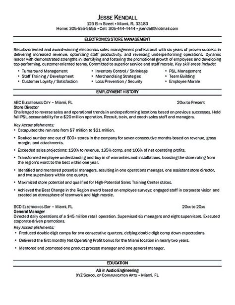 Hotel Assistant Manager Resume Samples Restaurant -    ersume - combined resume