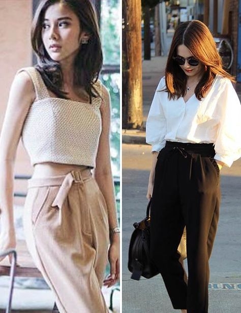 357878de3 How To Dress If You Are A Petite Or A Short Woman | Trousers ...