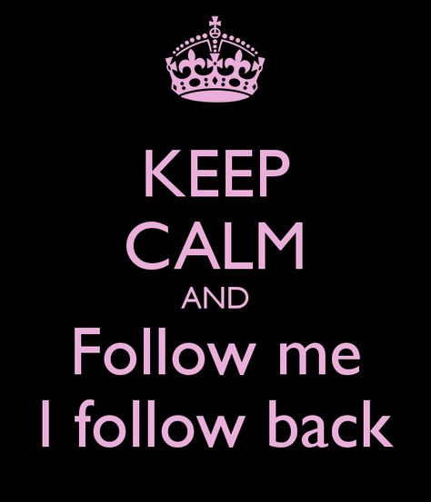 follow me i follow back - Google Search