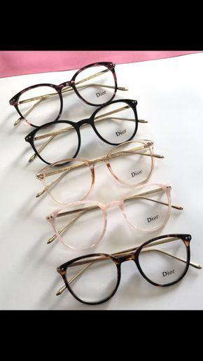 7860b5dba4e7 Armacao de Grau Dior Summer   Lentes em 2019   Óculos estilosos, Óculos  para rosto redondo e Óculos de grau dior