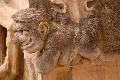 This interesting looking, humorous fellow can be seen on the outer wall of the tower of York Minster
