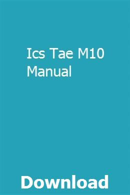 Ics Tae M10 Manual Engines For Sale Used Ford F150 Manual