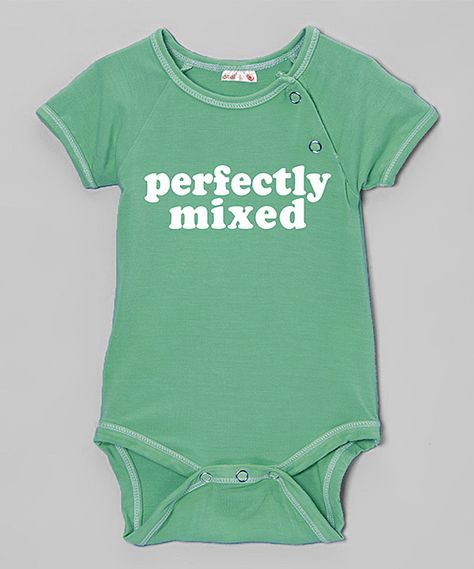 'Perfectly Mixed' Organic Bodysuit