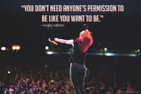 Paramore hayley Williams quote