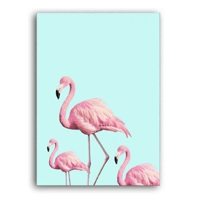 Online Shop Sure Life Nordic Warm Pink Flamingo Canvas Paintings Romantic Rose Poster Lovely Zebra Print W Wall Art Pictures Mandala Wall Art Zebra Print Walls