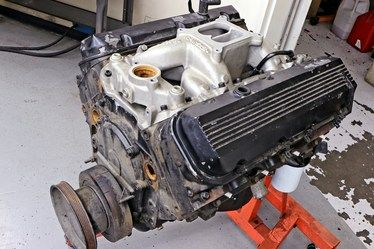 Car Craft S Mark Vi Junkyard 454 Big Block Chevy Gets A Cam Head And Intake Swap For 503 Hp With A Stock 7 8 1 Compression 454 Big Block Big Block Car Craft