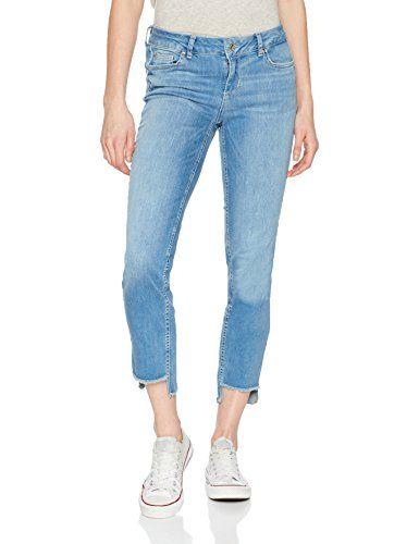 Liu Jo Damen Slim Jeans U18063D4183 Blau (Den.Blue Smile