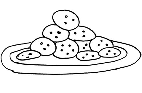Cookie Coloring Page Coloring Pages For Kids Coloring Pages