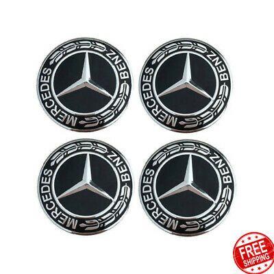 4Pcs Car Wheel Center Hub For Mercedes Car Rim Emblem Badge