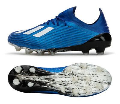 Adidas X 19 1 Hg Fv3053 Soccer Cleats Football Shoes Boots Spikes Blue In 2020 Shoe Boots Rugby Boots Football Shoes