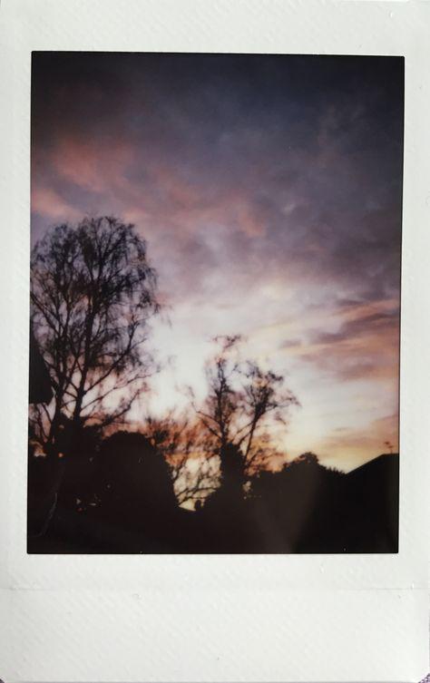 Sunset Polaroid