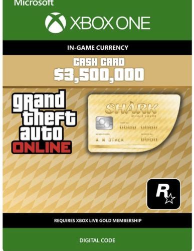 Prepaid Gaming Cards 156597: Grand Theft Auto V Online Xbox
