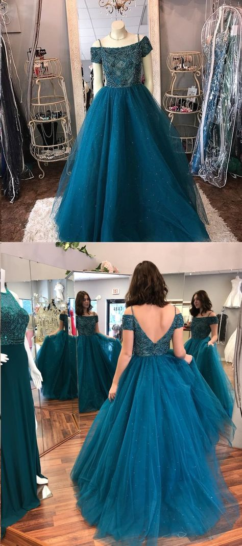 d74181941138 Sparkly Prom Dresses with Straps Aline Rhinestone Beautiful Long Open Back  Prom Dress JKL1570