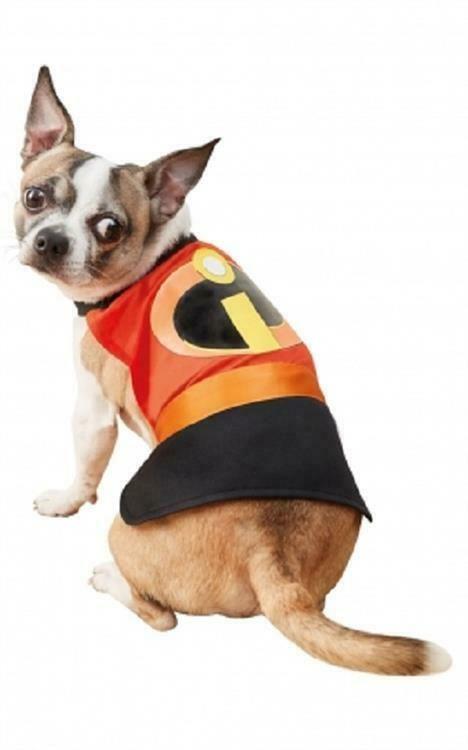 Clone Of Incredibles Fancy Dress Pet Dog Cat Dog Costume Ad