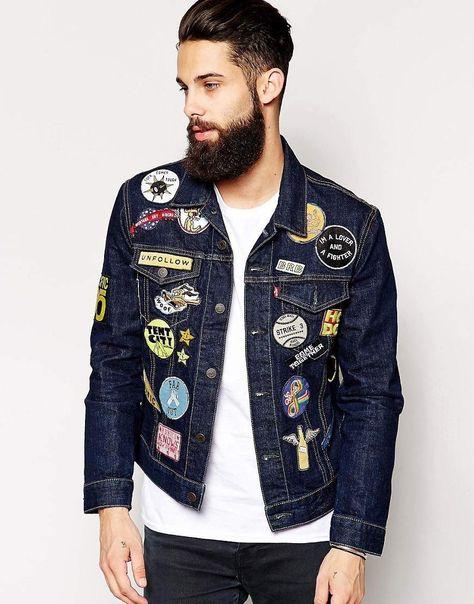 Foto: Parches. No importa que tu chaqueta no tenga un solo descosido: las tendencias dictan que hay que cubrir pantalones y chaquetas con parches y bordados.