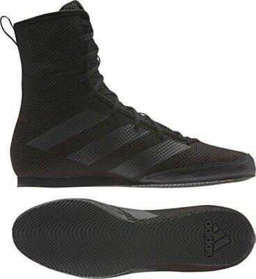 Adidas Box Hog 3 Boxing Boots Black