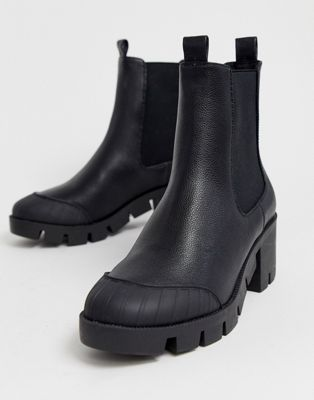 ASOS DESIGN Remy chunky chelsea boots