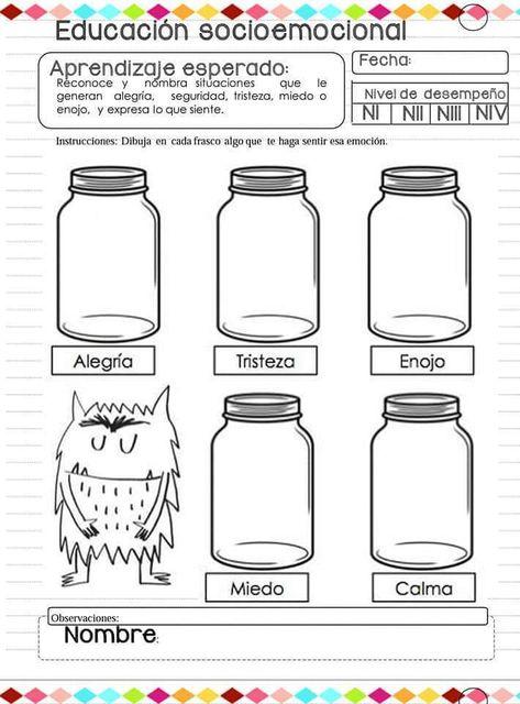 Cuaderno para trabajar la educación emocional en clase - Imagenes Educativas