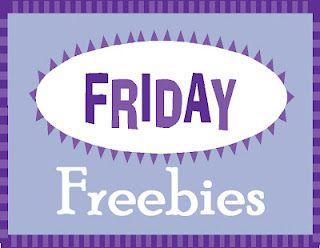 Fabulous Friday Freebies!