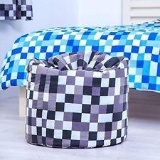 Stupendous Details About Grey Minecraft Bean Bag Kids Sofa Seat Creativecarmelina Interior Chair Design Creativecarmelinacom