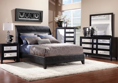 Rooms To Go Bedroom Sets Queen jackson heights ebony queen bedroom collection $999.99 at rooms to