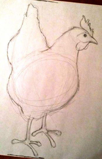Tutorial: little black hen in watercolor watercolour tutorials, watercolour painting, painting & drawing