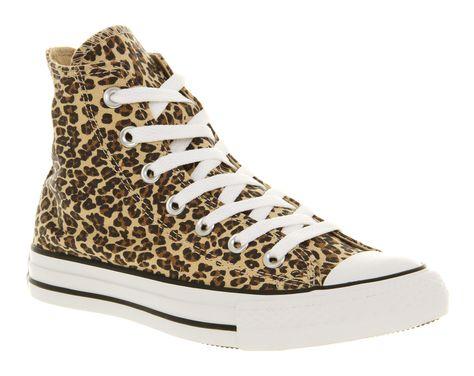 converse de leopardo